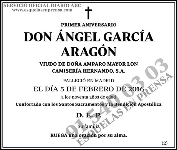 Ángel García Aragón